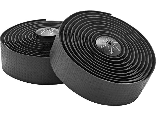 Supacaz Bling Stuurlint, black carbon